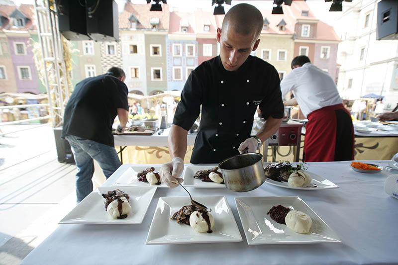 Leicht, frisch, umweltbewusst und regional, das sind auch in Polen die Koch-Trends der Zeit. Foto: ofds