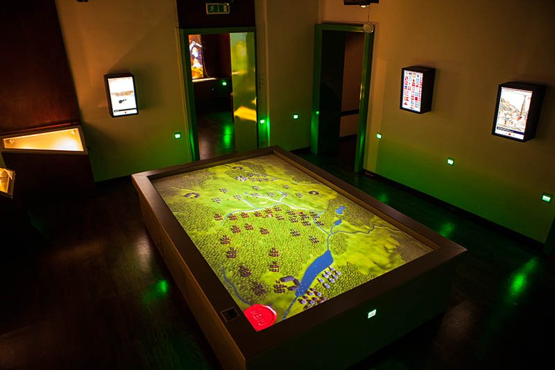 Bei der Darstellung setzt man vor allem auf multimediale und dreidimensionale Präsentationen. Foto: Interaktywne Muzeum Państwa Krzyżackiego
