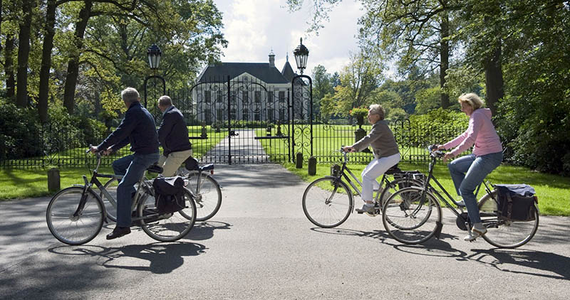 Das ist nicht der Pieperpad, sondern die älteste Radroute der Niederlande. Foto: NBTC