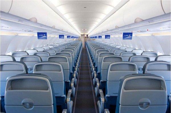 A320 von LAN innen. Foto: LATAM Airlines