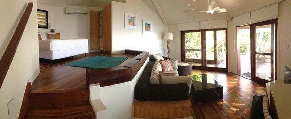 Sieben Luxusvillen für maximal 14 Gäste. Foto: Tourism Queensland