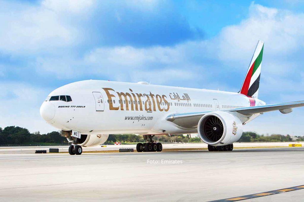 Erneuerung der Boeing 777-200LR-Flotte von Emirates