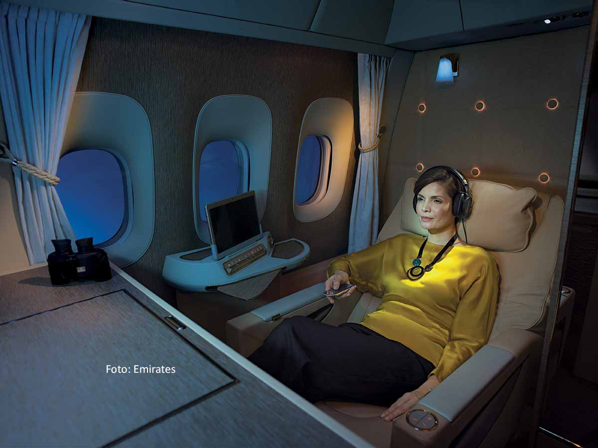 Emirates Game Changer First Class