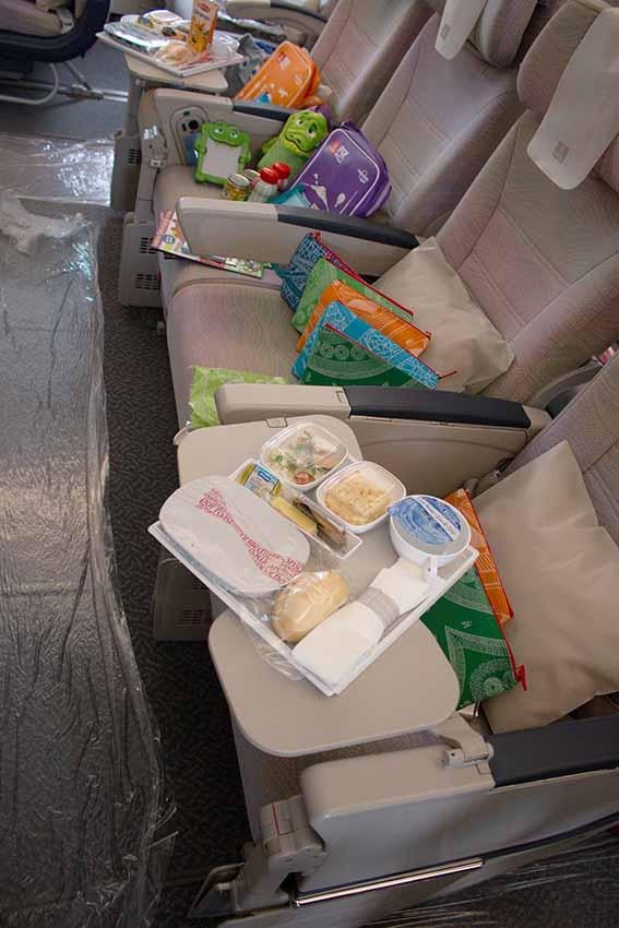 Angebote für Kinder in der Economy Class des Emirates A380