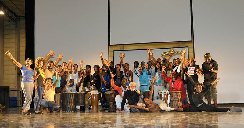 Jetzt geht die Neuinszenierung als Bühneninszenierung für sieben Monate Tournee durch Deutschland, Österreich und die Schweiz. Foto: Afrika! Afrika! / gerold-fotografie