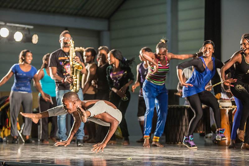 Die Tournee Afriak! Afrika! geht vom 1. Oktober bis zum 27. April 2014. Foto: Veranstalter