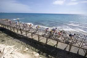 Sportlich und naturnah präsentiert sich Zypern bei der Polis to Akamas Mountainbike Challenge am 28. und 29. September: Auf drei Routen unterschiedlichen Schwierigkeitsgrads sind Mountainbiker 22, 34 oder 59 Kilometer auf der Akamas-Halbinsel unterwegs. Foto: Fremdenverkehrszentrale Zypern