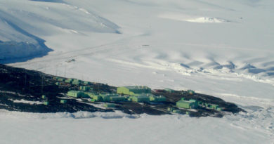 Scott Base, Ross Island, Antarktis. Foto: Andrew Mandemaker/CC