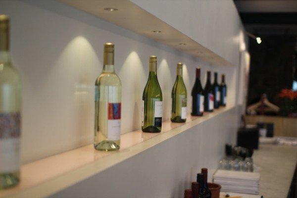 Weinkollektion im Restaurant von Leewin Estate. Foto: Detlef Knoll