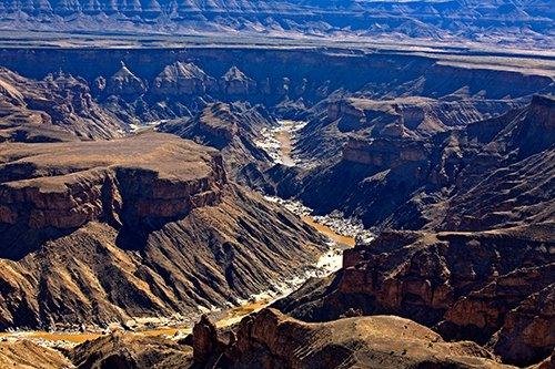 Der Fish River Canyon. Foto: Ingo Paszkowsky