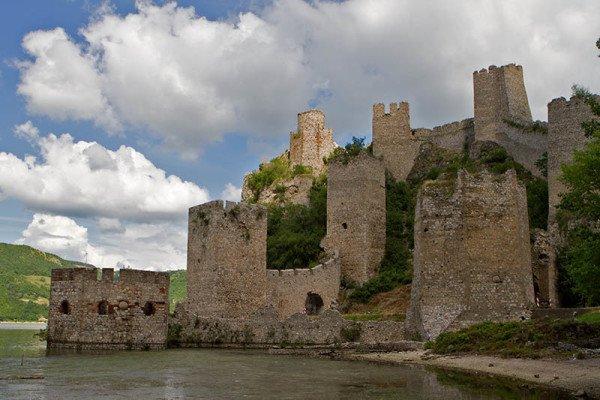 Die Festung von Golubac. Foto: Ingo Paszkowsky