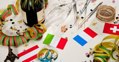 Silvester: Wie feiern die Nachbarn?