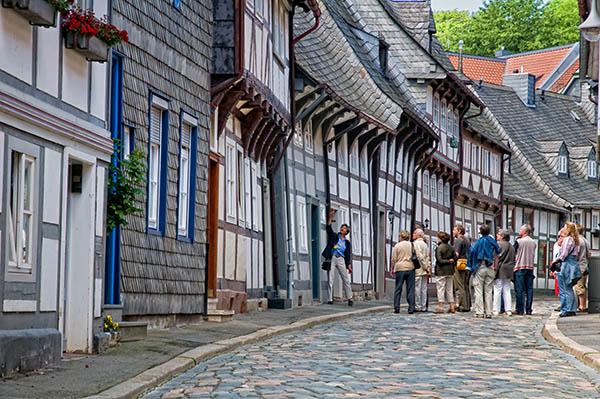 Die Altstadt von Goslar. Copyright: Stefan Schiefer / www.digiphotos.de / UNESCO Welterbestätten Deutschland e.V.
