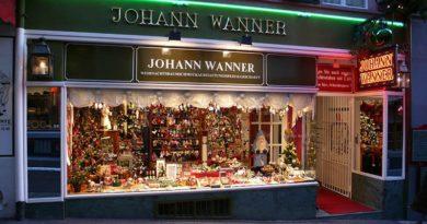 Schweiz: Der Couturier der Christbäume – Johann Wanner