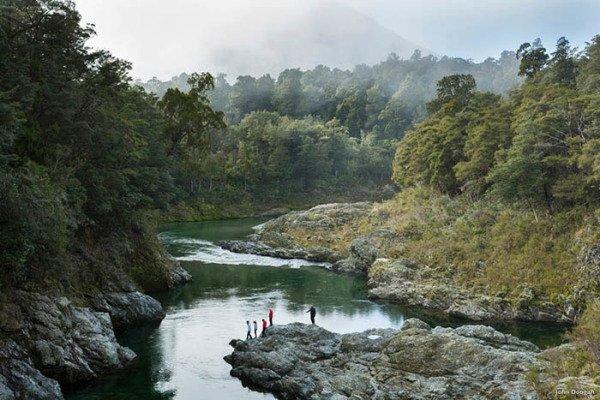 Der Pelorusfluss – Im Film der Waldfluss. Foto: Tourism New Zealand / John Doogan
