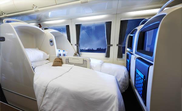 Aus dieser Perspetive sieht es aus, als ob die Betten Hobbit-Abmessungen hätten. Foto: www.queenslandrailtravel.com.au/