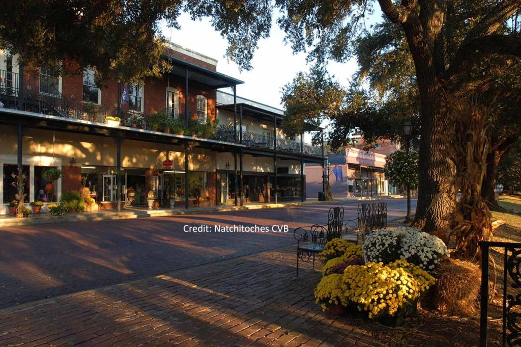 Drehort Downtown Natchitoches