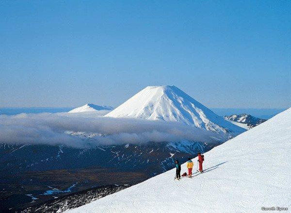 Das Neuseeländische Skigebiet Turoa, Ohakune – Im Film: Berg Erebor. Foto: Tourism New Zealand / Gareth Eyres
