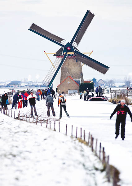 """Wann wird es mal wieder richtig Winter? """"Wann wirds mal wieder richtig Sommer?"""" war übrigens ein Ohrwurm der holländischen Showmasters Rudi Carrell. Foto: NBTC / Guus Schoonewille"""