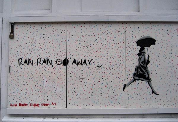 rain, rain... Foto: Beate Lemcke