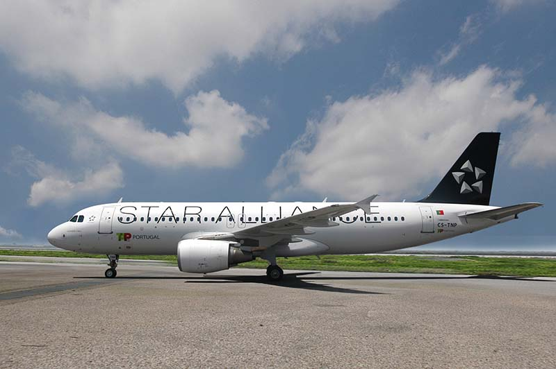 A320 in den Farben der Star Alliance. Foto: TAP Portugal