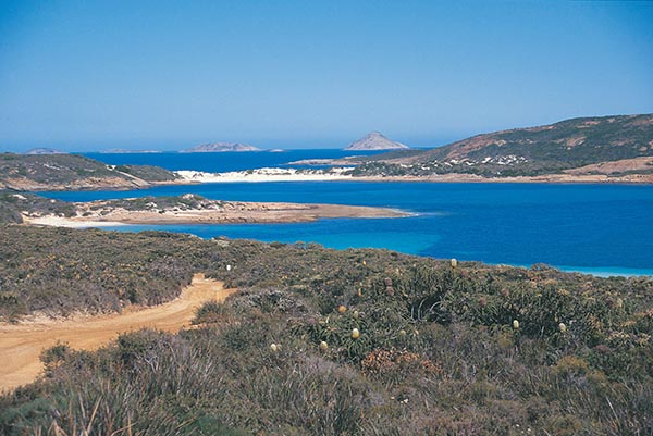 Little Wharton Beach Cape Le Grand Nationalpark. Foto: Tourism Western Australia