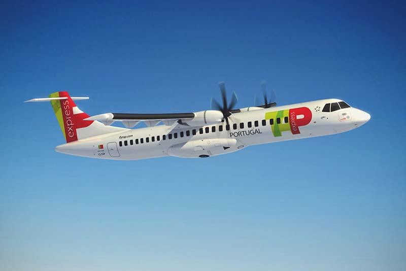 ATR-72. Foto: TAP Portugal