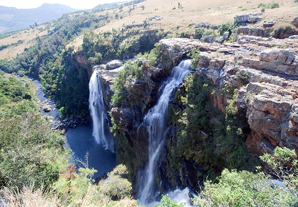 Lisbon Falls bei Graskop, Mpumalanga. Foto: www.dein-suedafrika.de
