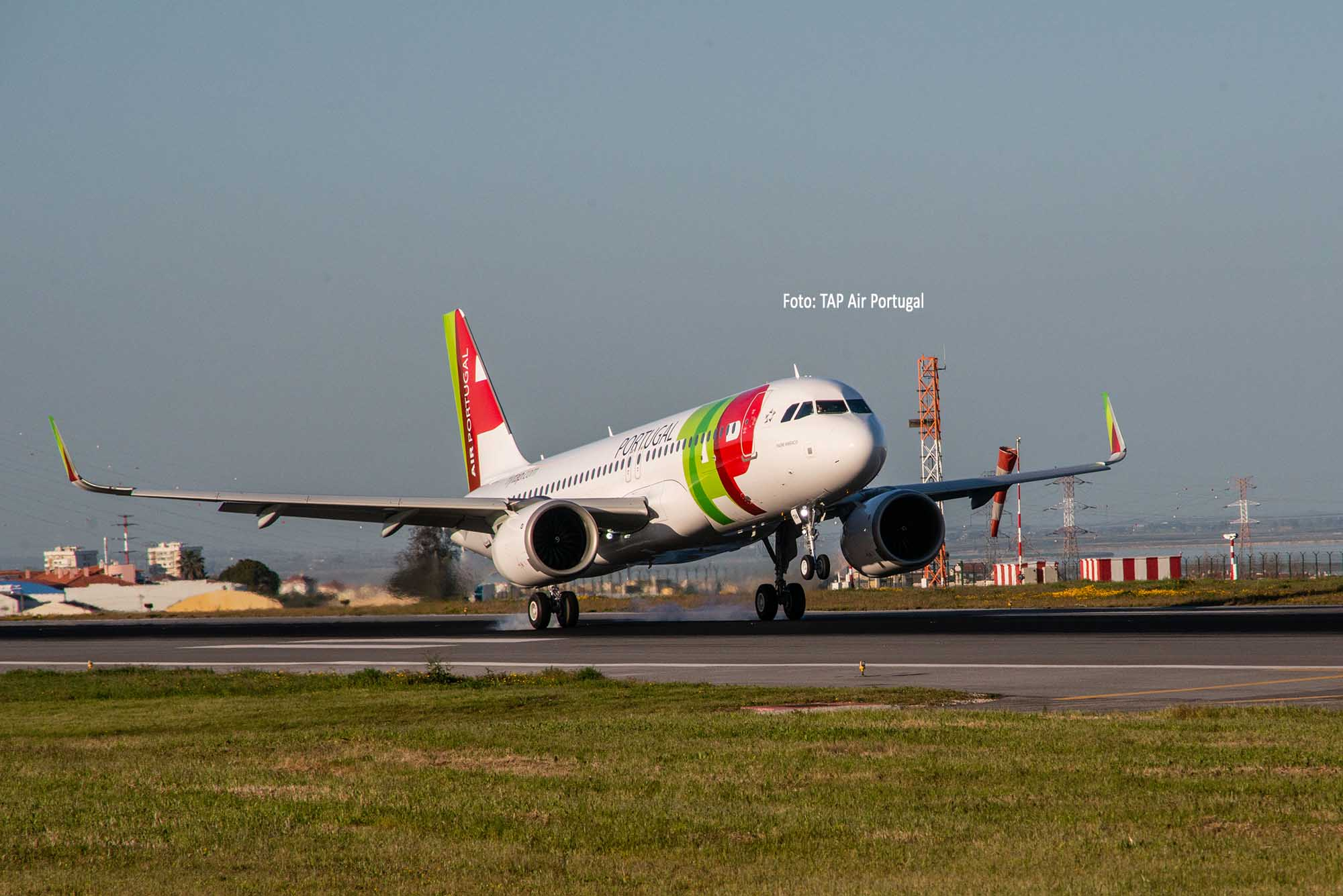 Am 18. April 2018 erhielt TAP Air Portugal die erste Maschine vom Typ A320neo. Foto: TAP Air Portugal