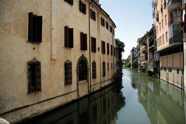 In Padua gab es früher viel mehr Kanäle. Viele wurden zugeschüttet. © L. Zilli