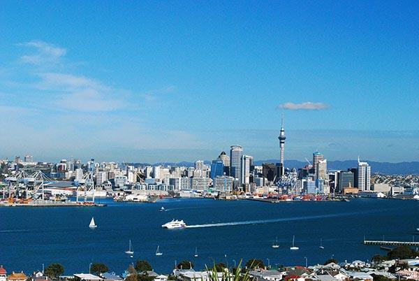 Auckland City. Foto: Tourism New Zealand