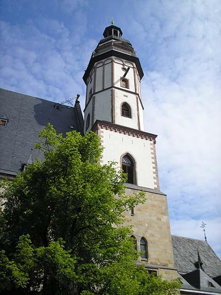 Thomaskirche Leipzig. Foto: Günter Knackfuss