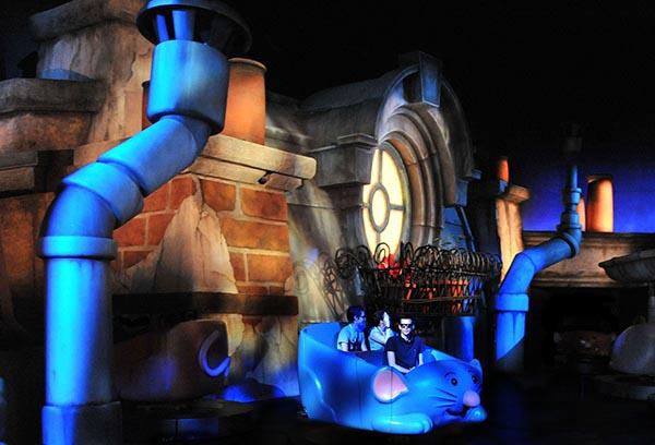 Über den Dächern von Paris. Foto: Disneyland Paris