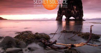72 Stunden Licht für das erste Mitternachtssonnen-Festival in Island. Foto: www.secretsolstice.is