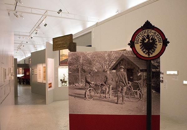 Eine sehr sehenswerte Ausstellung zum Ersten Weltkrieg zeigt das Musee Lorrain in Nancy. Foto: Ingo Paszkowsky