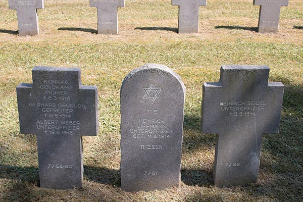 Deutscher Soldatenfriedhof in Gerbeviller.