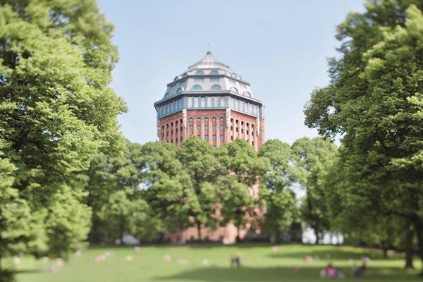 Mövenpick-Hotel in einem Wasserturm aus dem 19. Jahrhundert. Foto: Booking.com