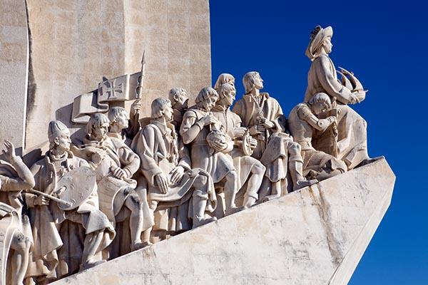 Padrão dos Descobrimentos (Denkmal der Entdecker) mit Heinrich dem Seefahrer an der Spitze in Belém am Ufer des Tejo. Foto: Ingo Paszkowsky