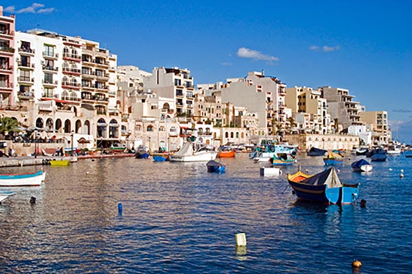 Bucht und Hafen bei Sliema. Foto: Ingo Paszkowsky