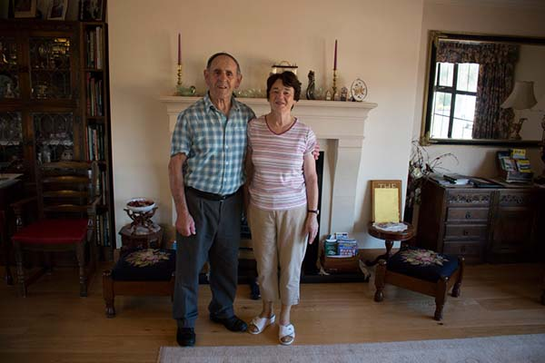 Vera und Bartley Feeney, die vermutlich nettesten B&B-Gastgeber in Spiddal und Umgebung.