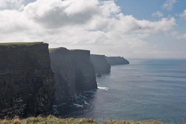 Vermutlich die Attraktion Nummer 1 an der Westküste: die Cliffs of Moher.