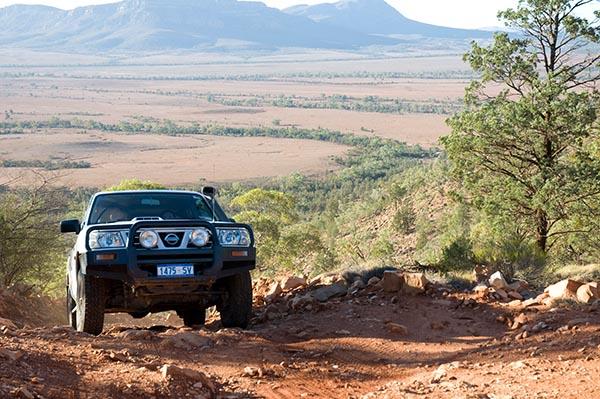 Besonders beliebt: Outback-Abenteuer mit dem Allrad. Foto: RPS