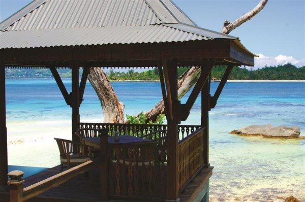 Das Enchanted Island Resort auf den Seychellen. Die Seychellen sind rund 10 Flugstunden von Deutschland entfernt. Foto: JA Resorts & Hotels