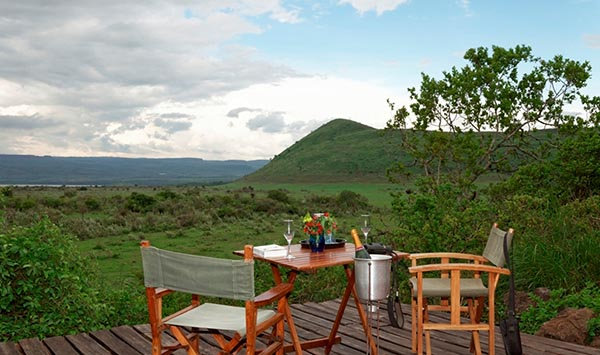 Mitten im Naturschutzgebiet Soysambu liegt die Sleeping Warrior Lodge. Foto: Green Pearls