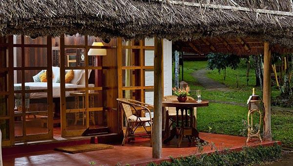 In der waldigen Bergregion des Periya in Kerala liegt das Spice Village. Foto: Green Pearls