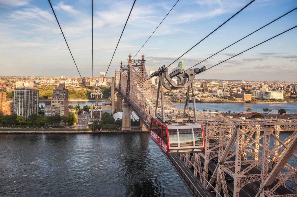 Roosevelt Island Tram, Upper East Side, Roosevelt Island, NYC / Foto: Tagger Ynacey IV / Credit NYC & Company