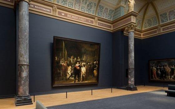 Die Nachtwache im Rijksmuseum. Foto: Rijksmuseum