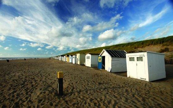 Strandhütten auf Texel. Foto: NBTC