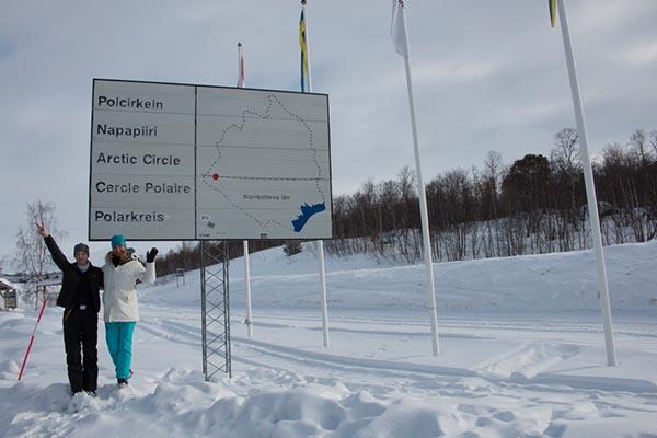 Erika und Anna - unsere beiden Guides. Foto: Ingo Paszkowsky