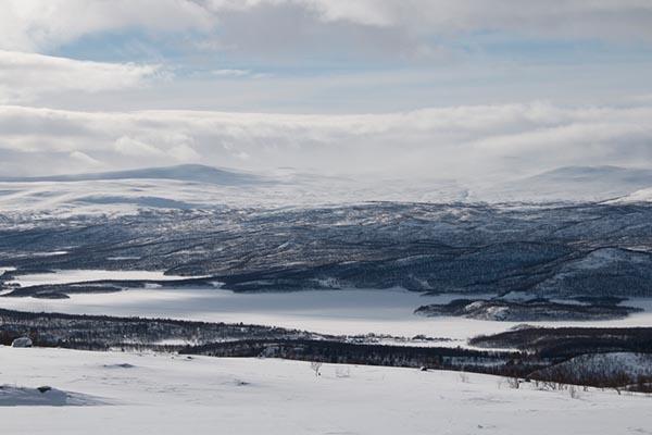 Eindrucksvolle Landschaft in der Nähe des Polarkreises. Foto: Ingo Paszkowsky